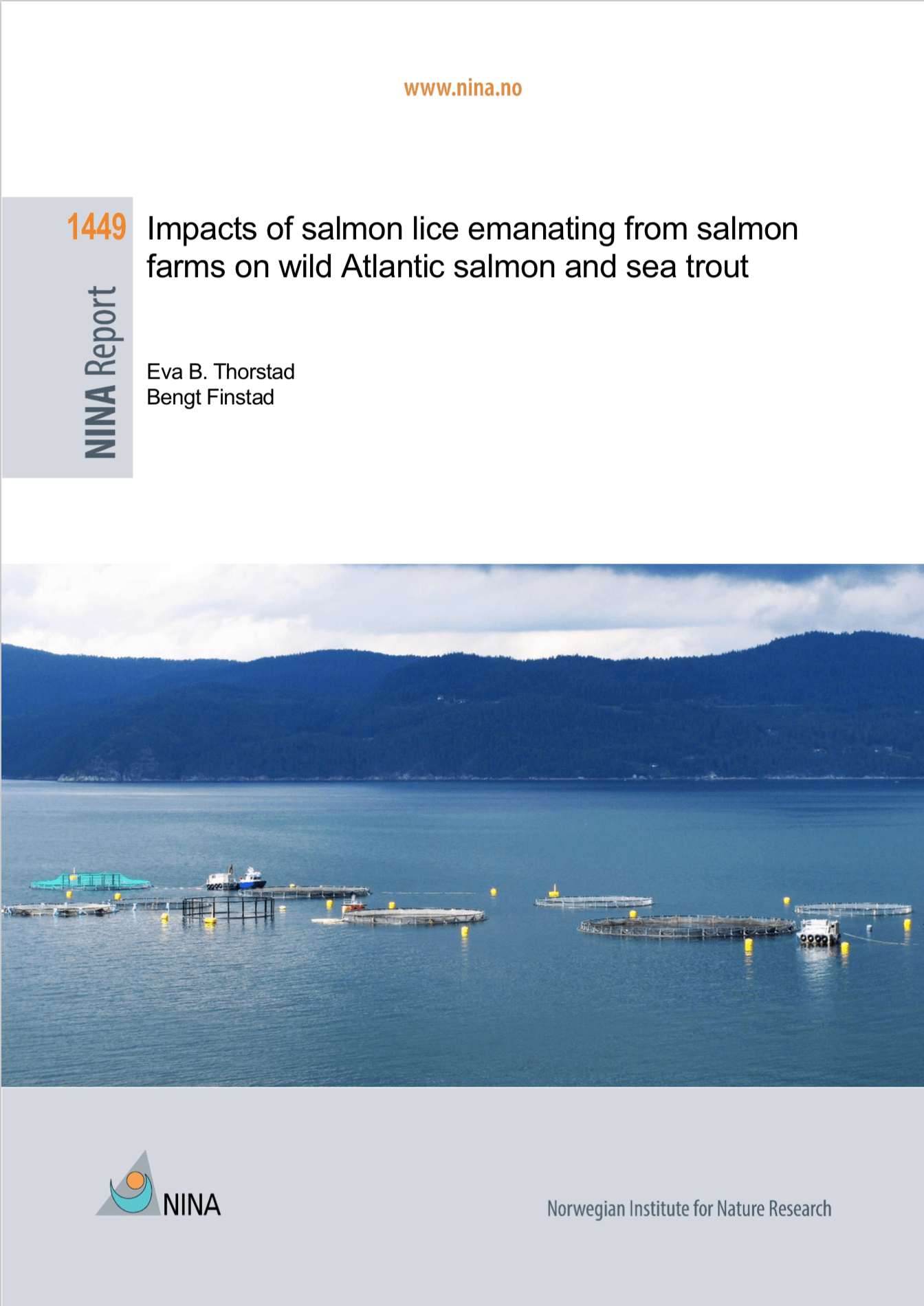 Impacts of salmon lice emanating from salmon farms on wild Atlantic salmon and sea trout