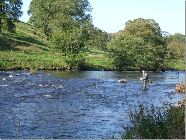 The River Ribble.