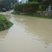 Chilmark flooding 2008