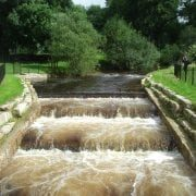 Fish pass on Devon's River Yealm