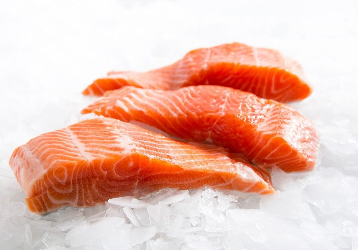 organic farmed salmon